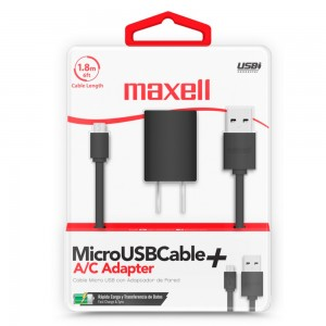 Cable Maxell MUSB-600-6ft...