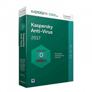 Kaspersky Anti-Virus (1-Usuario) 2017 (TMKSR-076)