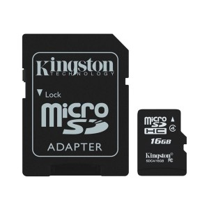 Memoria Micro SD KINGSTON (SDC4/4GB)