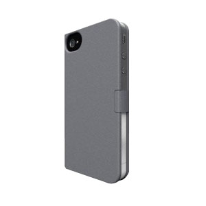 Cover FRESH FIBER Book For iPhone 5 Gris