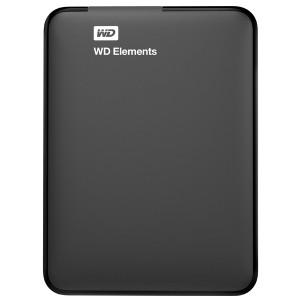 Disco Externo Western Digital 1TB (WDBUZG0010BBK)