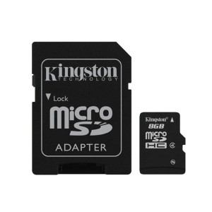 Memoria Micro SD KINGSTON (SDC4/8GB)