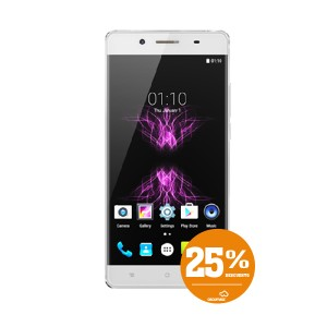 Smartphone CUBOT X16 Android, Blanco