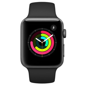 Apple Watch Sport S3 42MM Space Gray (MQL12LL/A)